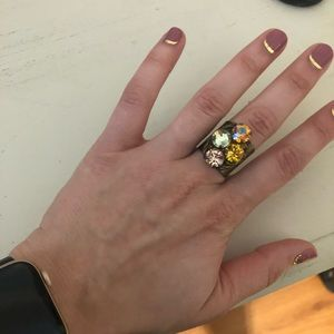 Adjustable size sorelli ring! Never worn!